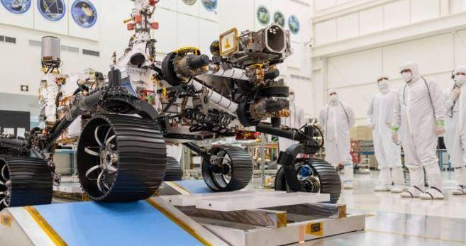Jipe-sonda Perseverance da NASA para Marte recebe fonte de energia nuclear