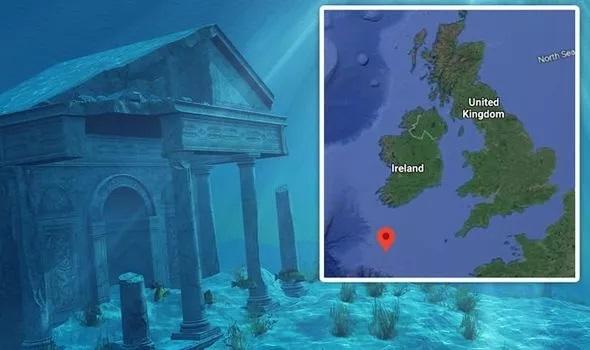 "Como a equipe russa localizou a ""Atlântida"" perto da Inglaterra"