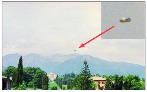 Veterano da RAF afirma que fotos mostram OVNI sobrevoando a Itália