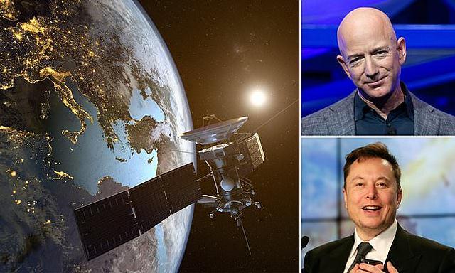 Amazon enviará mais de 3.200 satélites em órbita para competir com Elon Musk