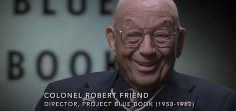 Tenente-coronel sugeriu o porquê do Projeto Blue Book ter encerrado