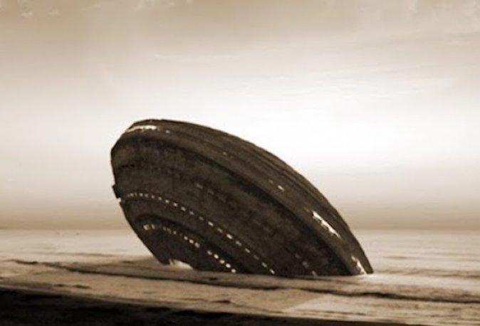 Um OVNI no Brasil, uma carta misteriosa e pedaços de uma nave alienígena