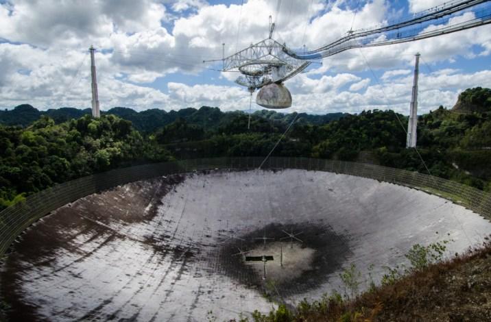 Notícia triste para a astronomia: Radiotelescópio de Arecibo será demolido