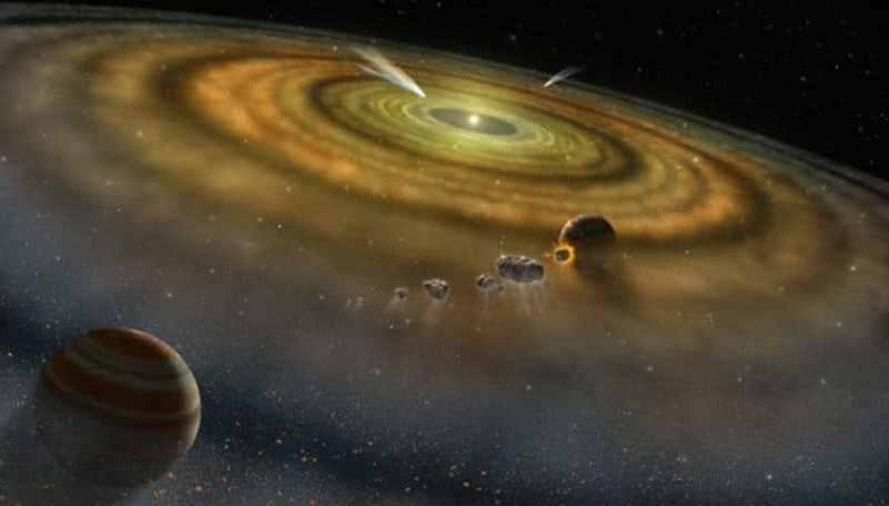 Sistema solar se formou em menos tempo do que a existência de humanos na Terra