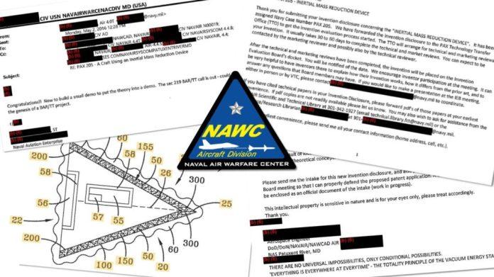 Patentes da Marinha dos EUA sugerem que ela possui tecnologia alienígena