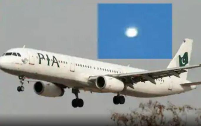 Piloto de avião comercial do Paquistão filma OVNI em pleno voo
