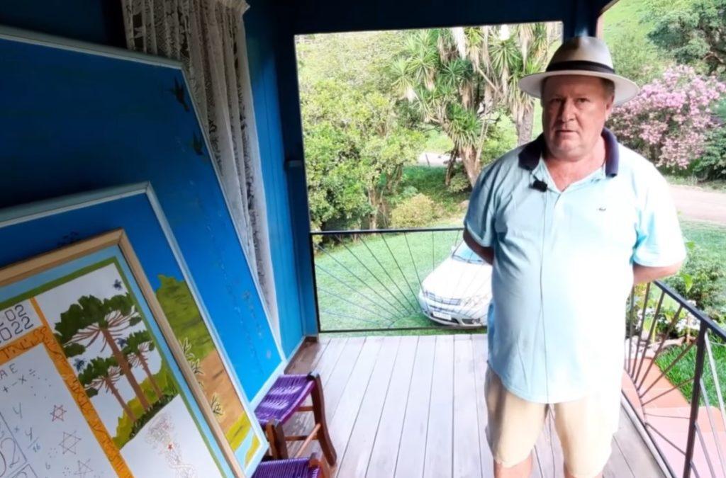 Agricultor de Santa Catarina diz ter contato frequente com ETs