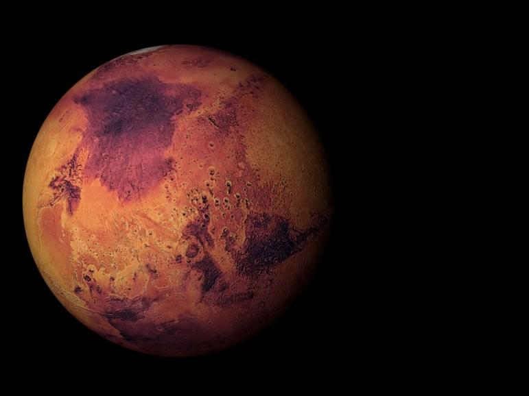 Marte pode ter vida microbiana alimentada por radioatividade sob a superfície