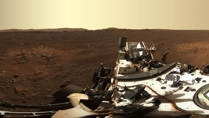 Perseverance começa encontrar objetos estranhos em Marte