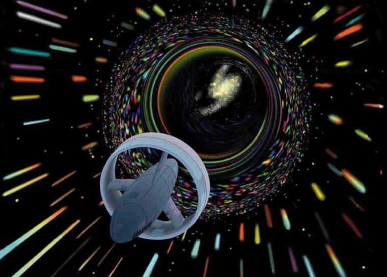 """Nova e misteriosa patente de motor de """"dobra espacial"""" surge online"""