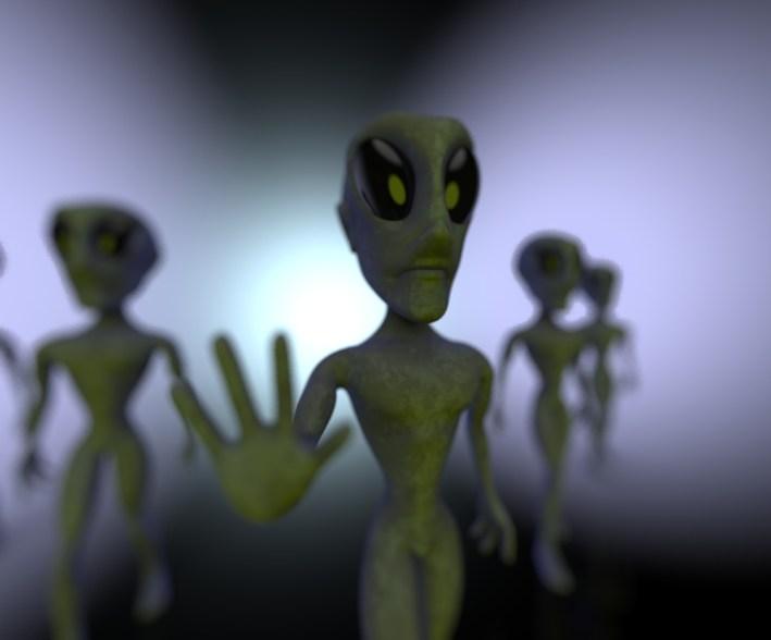 10 coisas que podem fazer você acreditar que alienígenas são reais