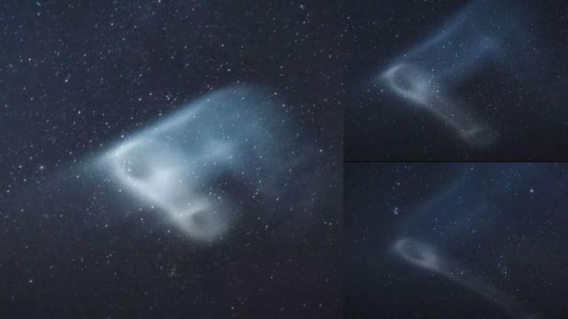 Marinheiros testemunham luzes misteriosas no céu sobre o Oceano Índico