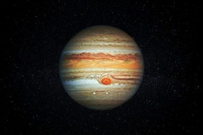 A tempestade da Grande Mancha Vermelha de Júpiter está acelerando, cientistas estão perplexos