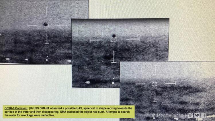 Marinha dos EUA discutiu a possibilidade de OVNIs serem de bases subaquáticas