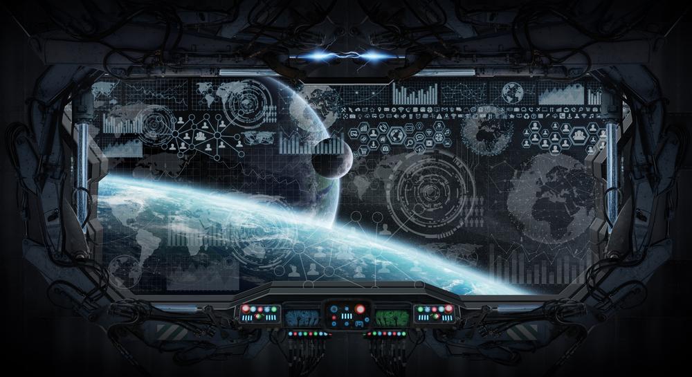 Como seria dentro de uma nave alienígena?