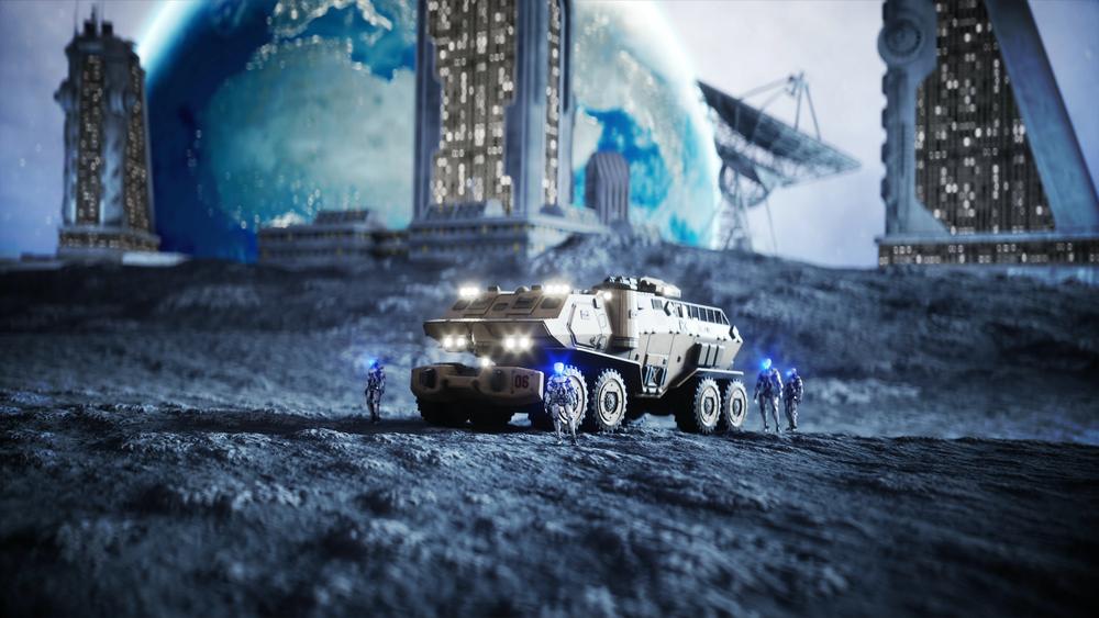 """Cientistas querem construir uma """"arca lunar"""" em caso de """"colapso da humanidade"""""""