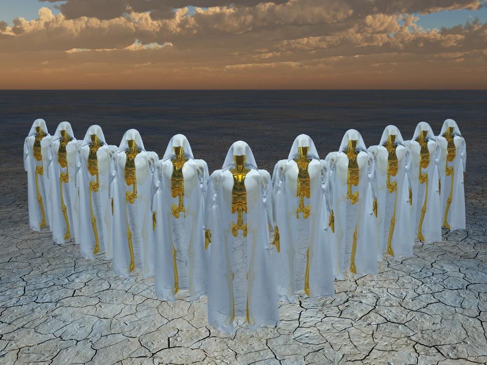 Em termos de religião ... os extraterrestres oram?