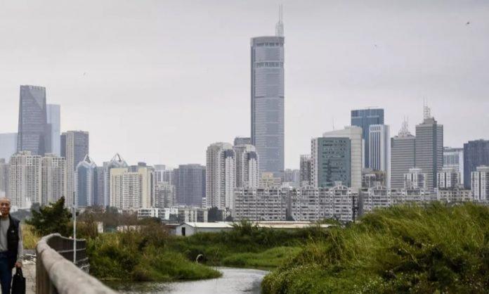 Prédio na China tremeu violentamente por razões desconhecidas