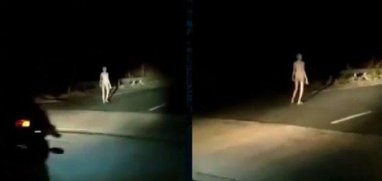 "Vídeo estranho de suposto ""alienígena"" na Índia é publicado online"