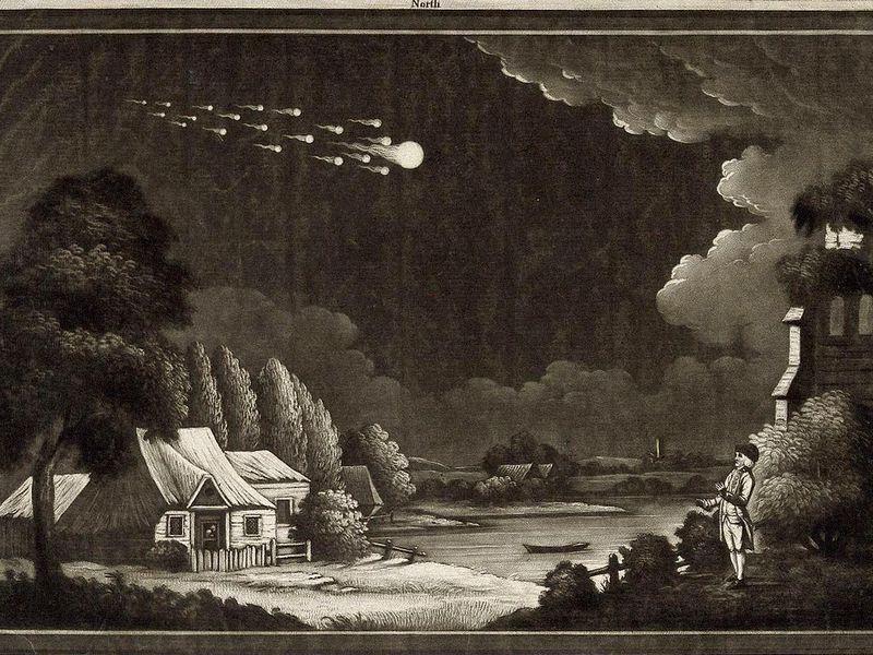 Até 1803, cientistas não acreditavam que meteoritos vinham do espaço
