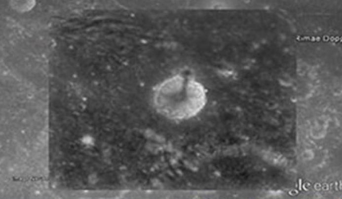 Estrutura colossal encontrada na Lua. Seria artificial?