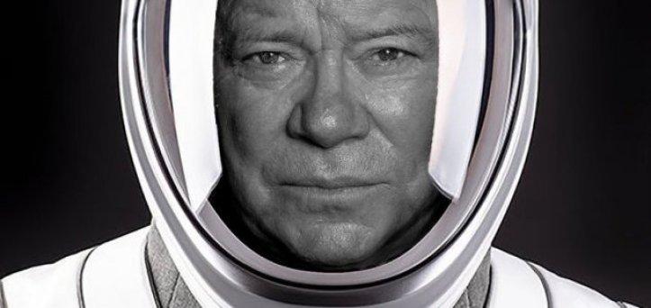 Capitão Kirk (William Shatner) vai para o espaço aos 90 anos