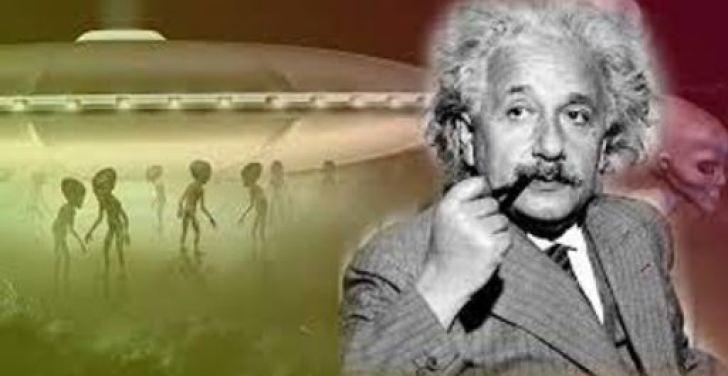 A viagem secreta de Einstein para ver o OVNI de Roswell (confissão gravada)