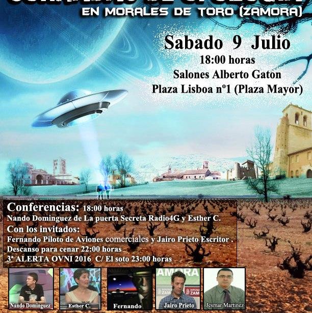 Segundas Jornadas de ufología Morales de Toro (Zamora)