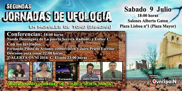 Segundas Jornadas de Ufología en Morales de Toro, el 9 de julio