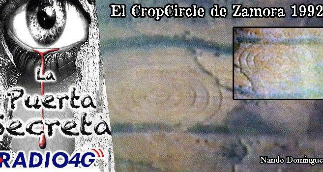 El Circulo de las Cosechas mas grande del mundo apareció en Zamora 1992
