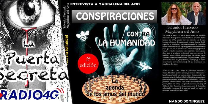 Magdalena del Amo Conspiraciones hacia la humanidad