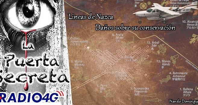 Las Lineas de Nazca en constante Peligro de conservación
