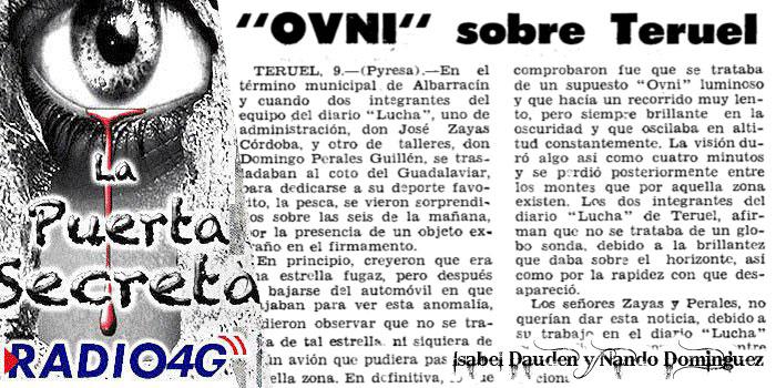 Ovnis en Teruel 1974