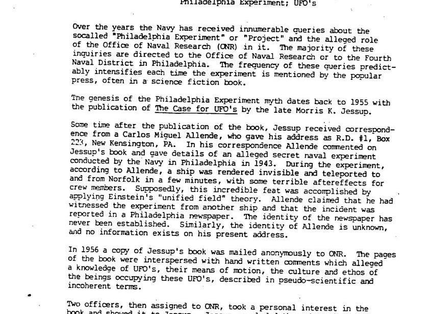 DOD UFO files