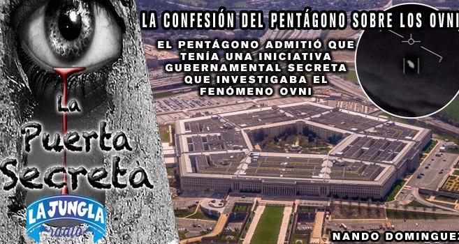 El Pentágono confirma que están investigando los OVNIS