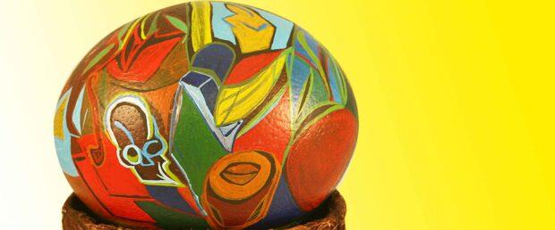Composition avec Tete de mort (P. Picasso)-Eleonora Pimponi-Civitella del Lago-2007