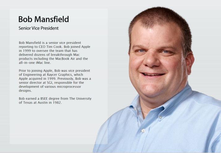 Bob Mansfield bio