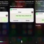 WhatsApp permite que Siri haga llamadas y envíe mensajes
