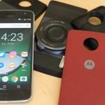 Video: primer contacto con los Moto Mods del Moto Z
