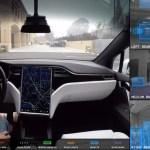 Video: así ve el camino el piloto automático de Tesla