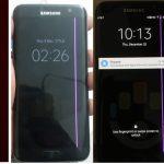 Usuarios reportan que una línea rosa aparece en la pantalla de los Galaxy S7 edge