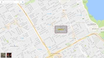 Google Maps Ms Pac Man