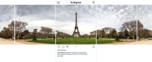 Instagram panoramica