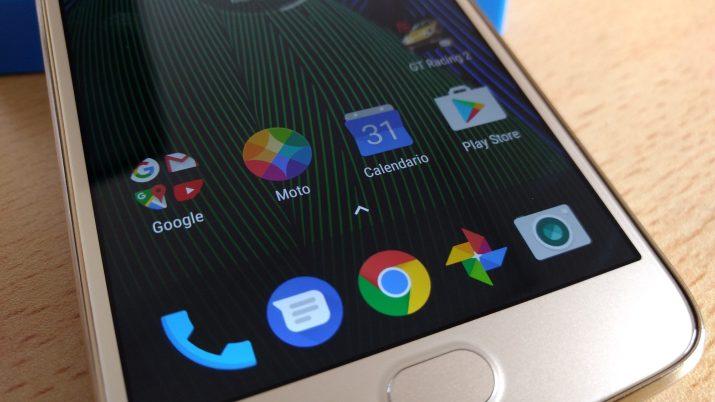 Moto G5 Plus pantalla