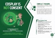 cosplay no es consentimiento