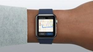 Google Maps Apple Watch