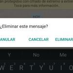 WhatsApp ya permite borrar los mensajes enviados