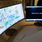 Samsung presentó cuatro monitores curvos en la Argentina