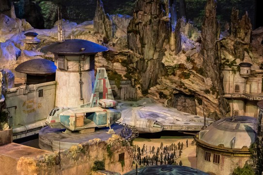 Star Wars Parque Disney 3