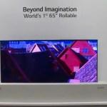 Video: así funciona la pantalla 4K de LG que se enrolla